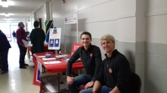 Voter Registration- Faribault International Festival: Thanks to our wonderful St. Olaf AmCon Volunteers!